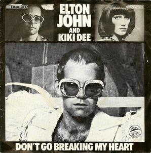 Elton John - Don't Go Breaking My Heart - Snow Queen