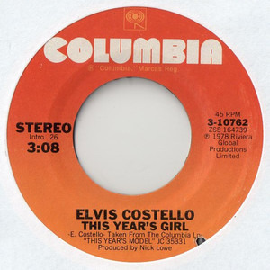 Elvis Costello - This Year's Girl