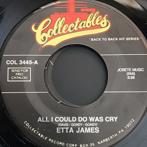 Etta James - All I Could Do Is Cry / Trust In Me Single
