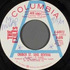 Exile - Church St. Soul Revival