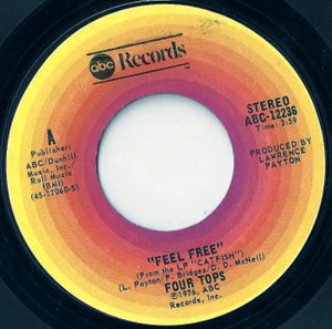 The Four Tops - Feel Free / I Know You Like It