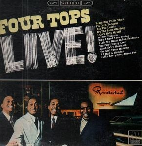 The Four Tops - Four Tops Live