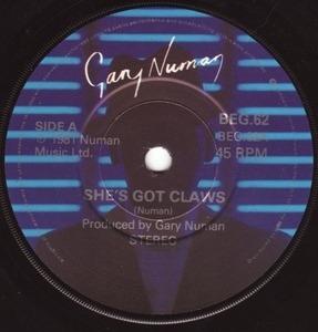 Gary Numan - She's Got Claws