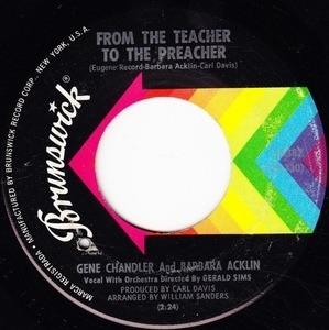 Gene Chandler - From The Teacher To The Preacher