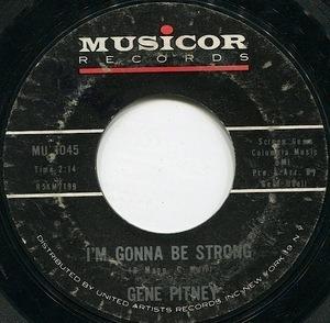 Gene Pitney - I'm Gonna Be Strong