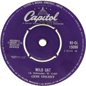 Gene Vincent - Wild Cat  Right Here On Earth
