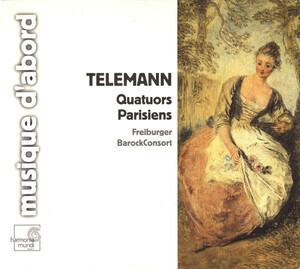 Georg Philipp Telemann - Quatuors Parisiens