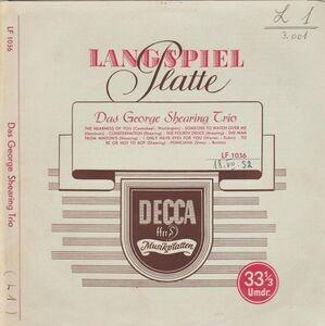 George Shearing Trio - Same