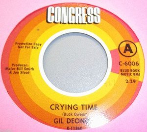 Gil Deonda - Crying Time / Wow
