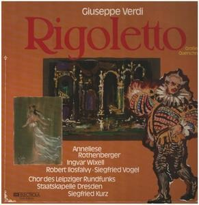 Giuseppe Verdi - Rigoletto (Großer Querschnitt In Deutscher Sprache)