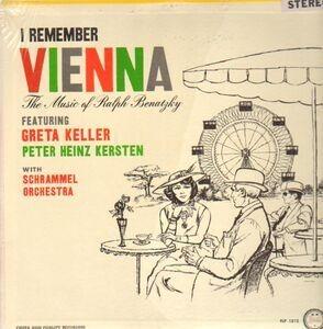 Greta Keller - I Remember Vienna - The Music of Ralph Benatzky