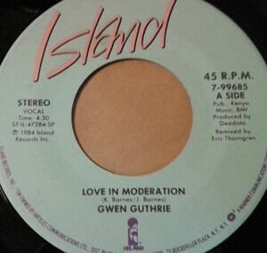 Gwen Guthrie - Love In Moderation
