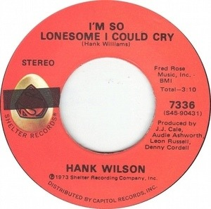 Hank Wilson - I'm So Lonesome I Could Cry