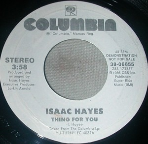 Isaac Hayes - Thing For You