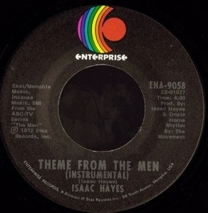Isaac Hayes - Theme From The Men / Type Thang