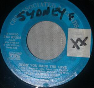 Isley/Jasper/Isley - Givin' You Back The Love