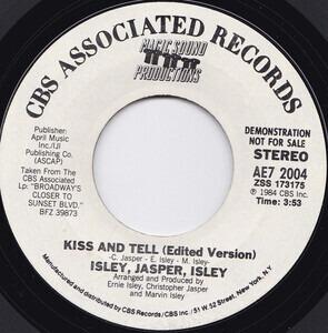 Isley/Jasper/Isley - Kiss And Tell (Edited Version)