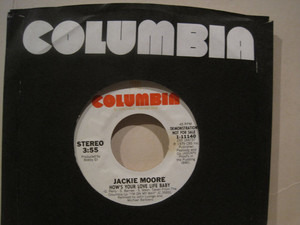Jackie Moore - How's Your Love Life Baby