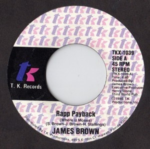 james  Brown - Rapp Payback (Where Iz Moses)