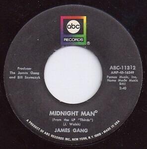 James Gang - Midnight Man / White Man - Black Man