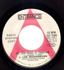 Jerome Richardson - We Can Make It Together / Next Door Love