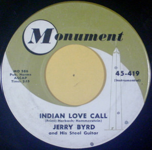 Jerry Byrd - Indian Love Call