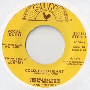 Jerry Lee Lewis And Friends - Cold, Cold Heart / Hello Josephine
