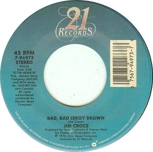 Jim Croce - Bad,bad leroy brown
