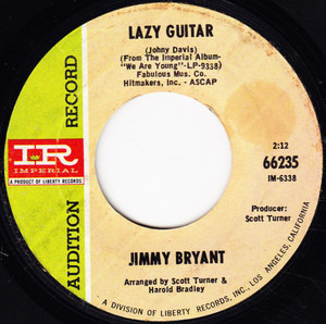 Jimmy Bryant - Lazy Guitar / Tabasco Road