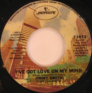 Jimmy Smith - I've Got Love On My Mind