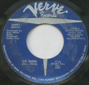Jimmy Smith - Lolita / Straight Ahead