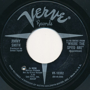 "Jimmy Smith - Theme From ""Where The Spies Are"""