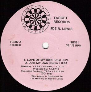 Joe Lewis - Love Of My Own