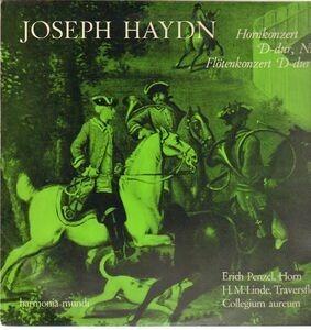 Franz Joseph Haydn - Hornkonzert D-dur , Nr.3 * Flötenkonzert D-dur