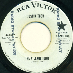 Justin Tubb - The Village Idiot / Where You're Concerned