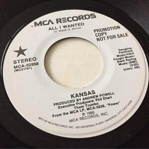 Kansas - All I Wanted