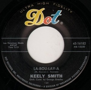 Keely Smith - La-bou-lay-a / Young In Years