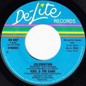 Kool & the Gang - Celebration / Morning Star