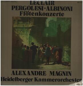 Giovanni Pergolesi - Flötenkonzerte