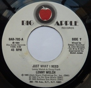 lenny welch - Just What I Need