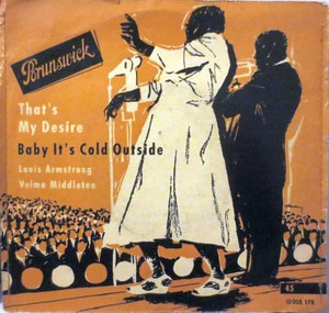 Louis Armstrong - That's My Desire / Baby It's Cold Outside