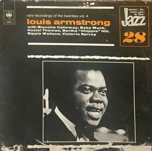 Louis Armstrong - Rare Recordings Of The Twenties Vol. 4