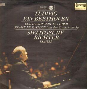 Ludwig Van Beethoven - Klavierkonzert Nr. 1 c-dur / Sonate Nr. 12 as-dur