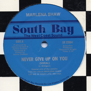 Marlena Shaw - Never Give Up On You