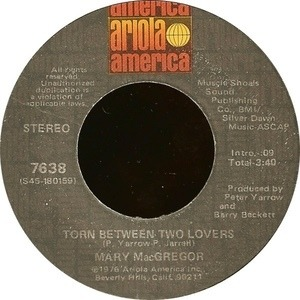 Mary Mac Gregor - Torn Between Two Lovers