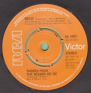 Meco - Themes From The Wizard Of Oz / Fantasy
