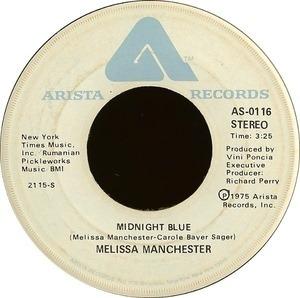 Melissa Manchester - Midnight Blue / I Got Eyes