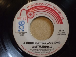 Michael McDonald - A Good Old Time Love Song
