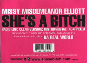 Missy Elliott - She's A Bitch