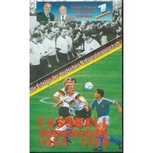 Deutshe Nationamannschaft - Fußball Weltmeisterschaften 1954-1990